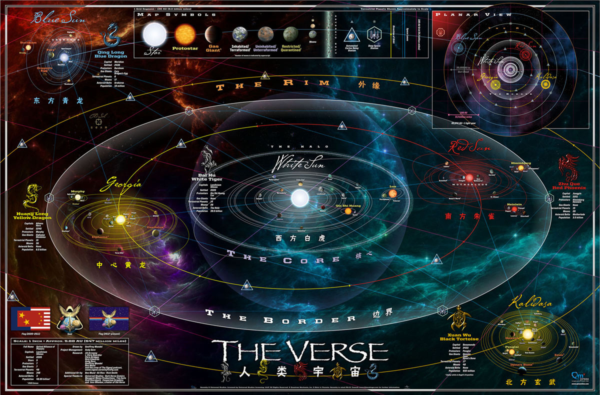 Image is courtesy of Firefly ShipWorks and Quantum MechanixOur Universe Map